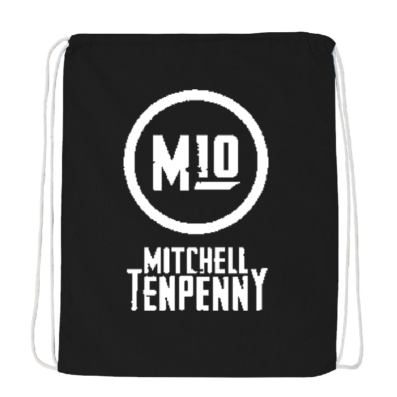 Mitchell Tenpenny Black Drawstring Bag