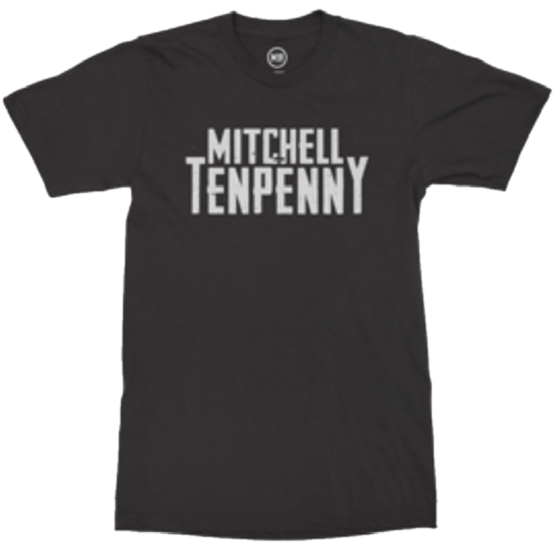 Mitchell Tenpenny Black Logo Tee