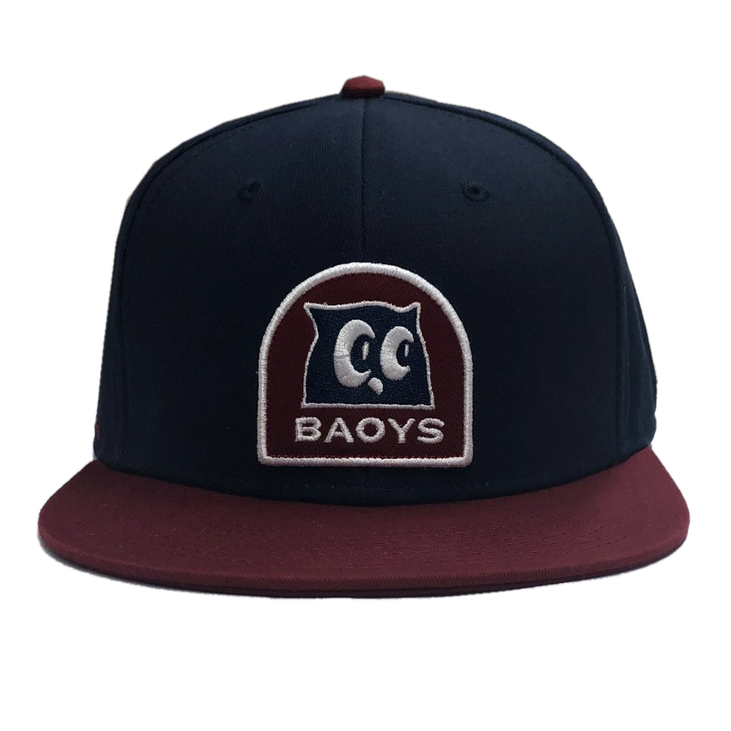 Mitchell Tenpenny Navy and Red BAOYS Flatbill Ballcap
