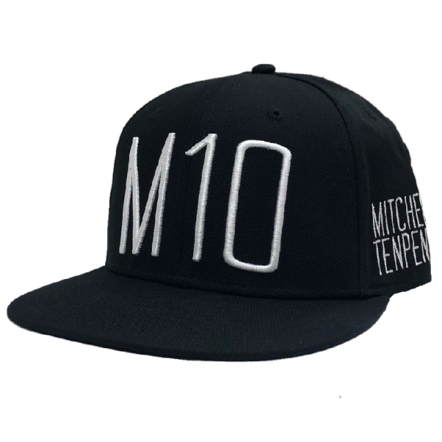 Mitchell Tenpenny Black M10 Flatbill Ballcap