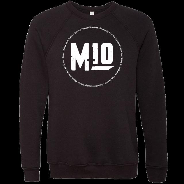 Mitchell Tenpenny Black Tracklist Sweatshirt