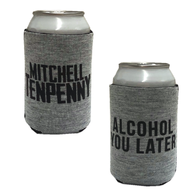 Mitchell Tenpenny Heather Grey Can Coolie