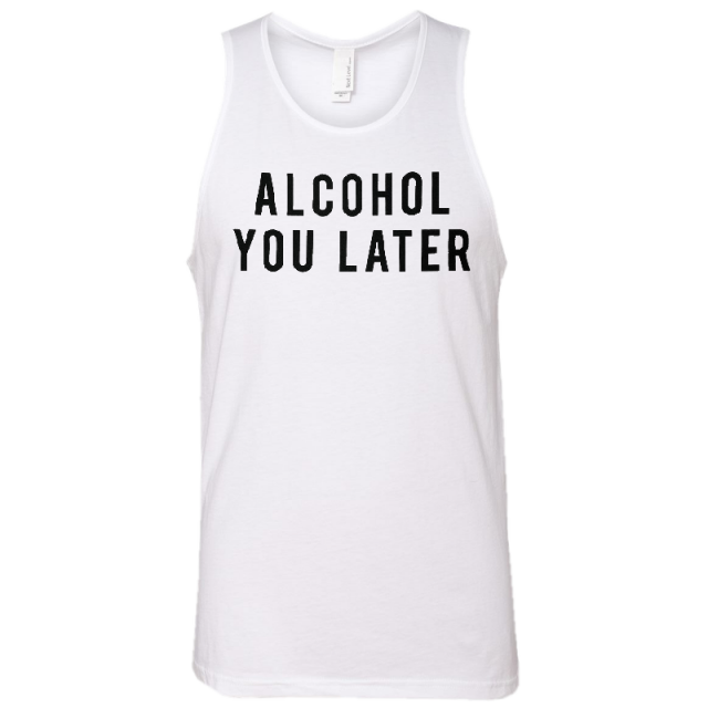 Mitchell Tenpenny White Alcohol You Later Tank