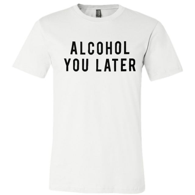 Mitchell Tenpenny White Alcohol You Later Tee