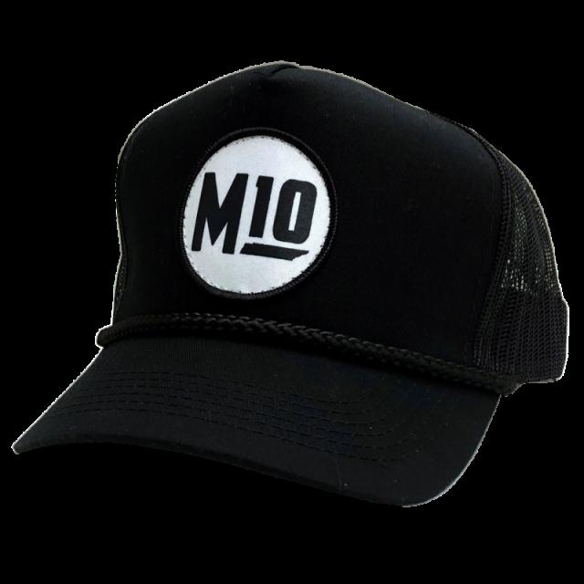 Mitchell Tenpenny Black Rope Trucker Hat