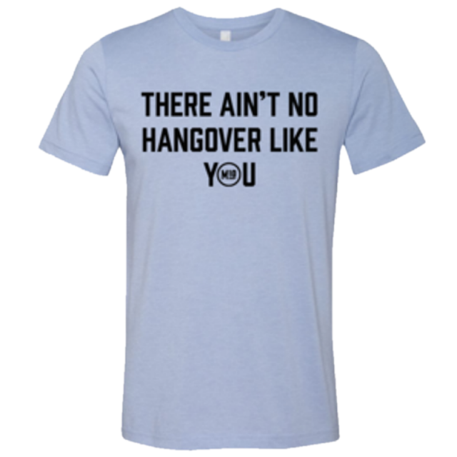 Mitchell Tenpenny Heather Blue Hangover Tee